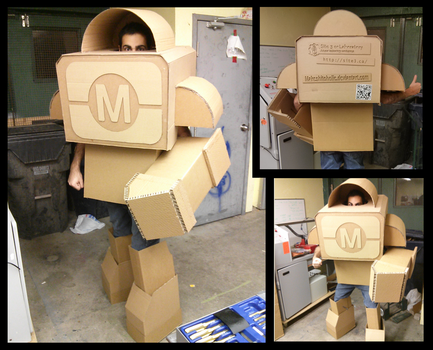 Makerfaire Bot Mechasuit by Makeshitoholic