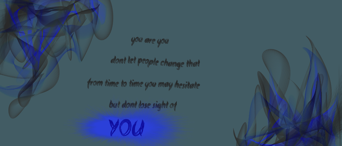 you are you by All-The-Fish-Here