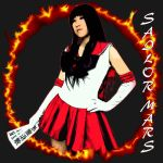 SAILOR MARS T-SHIRT 300 DPI8000x8000 by TFAllen