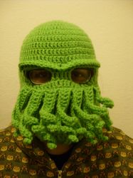 Cthulhu Ski mask by Sugarcoatidli3z