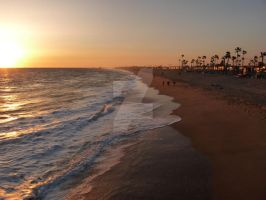 Newport Beach, California, After Surfing by celtic-chrys