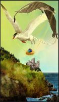 Gryphon Tarot - The Chariot by Bailiwick