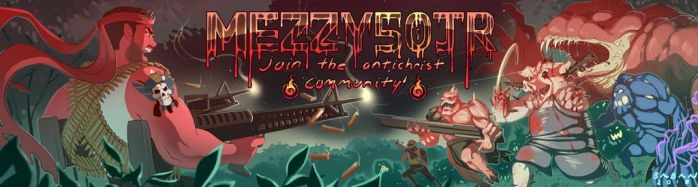 Mezzy50jr Twitch Banner Comission by BabaKinkin
