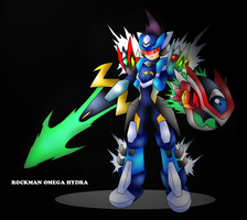 Rockman Omega Hydra by techan