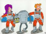 Futurama by DarkLinkFire