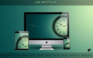MB HD Clock by nanatrex