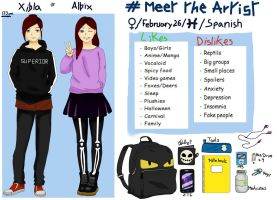 Meet the artist by albimola