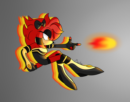 [Giftart] Hope the Echidna by Mechanized515