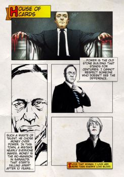 House of cards fanart by kent-of-artload