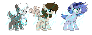 MLP Adoptables AUCTION #4 CLOSED by Nyan-Adopts-2000