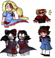 Creepypasta Gifts by HopefulEntertain