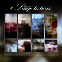 8 Large Textures by Neloaart