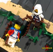 LEGO Assassin's Creed III by Saber-Scorpion