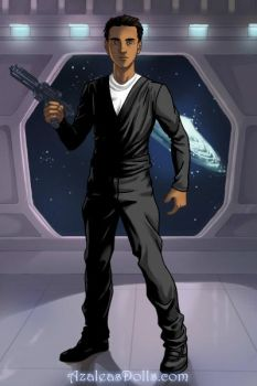 Dr. Chris Patel (Star Trek: Deep Space Nine OC) by suburbantimewaster