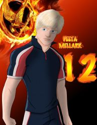 Hunger Games: Peeta Mellark by 4neodesigns
