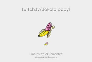 Twitch Emotes for Jakalpipboy1 by MzDemented