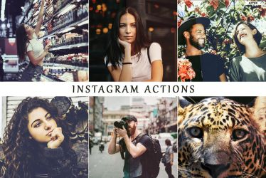 Instagram Photoshop Actions by ViktorGjokaj