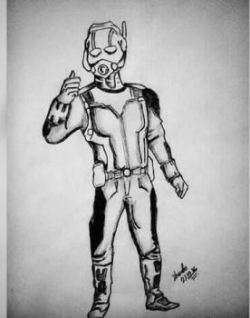 Ant Man by dhrubo2002