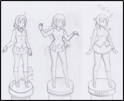 $ Maki: Podiums of cursed stone by ChompWorks
