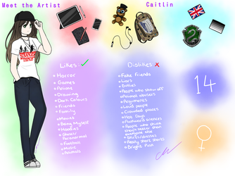 Meet the Artist - 2018 by OrcaArtzz