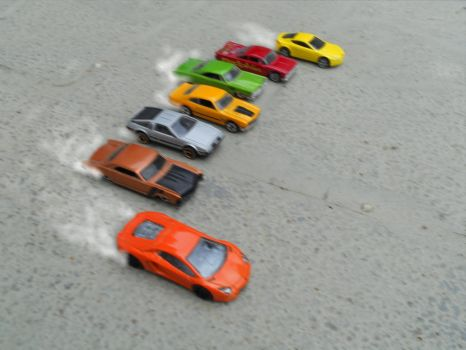 the ultimate hot-wheels drag-race 1443 by El-Macaquito
