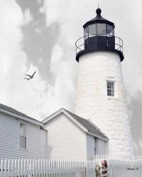 My Dad's Lighthouse by sandpiperw