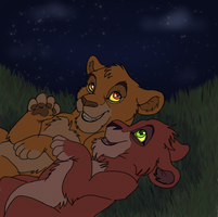 Brothers Under the Stars by DoodleDayDream