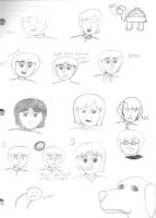 Monkees Doodle Dump by girlwitharubbersoul