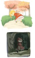 Little Red Riding Hood by shiraa9