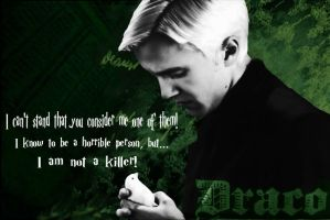Draco Malfoy Wallaper by Dhesia