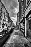 Street in Geneva 1 by Hamrani