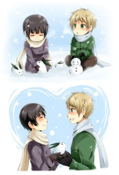 APH : snow play by Suikka
