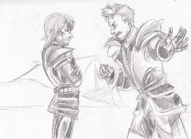 Alistair Confronts Aedan by PayRoo