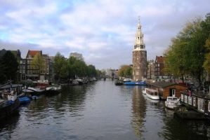 Amsterdam, Montelbaans tower by elodie50a