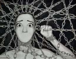 Imprisoned by Fear by MysticTruth