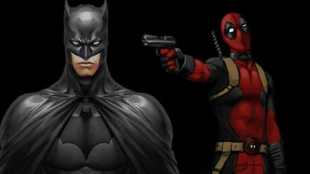 Deadpool Wallpaper - Batman Turns His Back by Curtdawg53