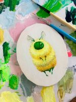 Lemon Bee by camilladerrico