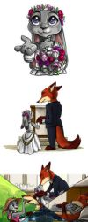 Nick and Judy - part VI - Zootopia by Amand4
