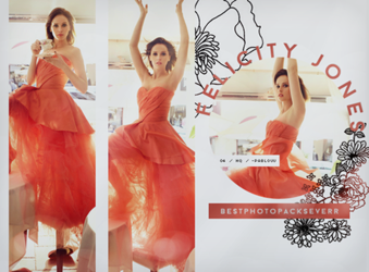 Photopack 13800 - Felicity Jones. by southsidepngs