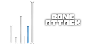 MMD Undertale - Bone attack by MagicalPouchOfMagic