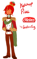 Ketchup Prince Heinz by MissPomp