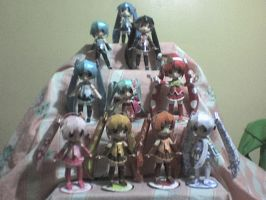 Miku papercraft collection by daigospencer