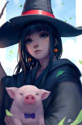 Magician and Piglet by Arcanedist