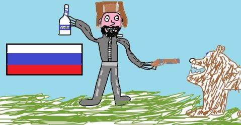In mother russia... by ProtoSnakeXD