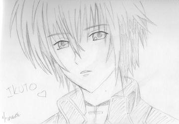 Ikuto Rough - Shugo Chara by Spike-Nifer