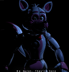 C4d | Be Quiet, They're here by The-Smileyy