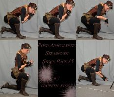 Post Apocalyptic Steampunk Stock Pack 15 by lucretia-stock