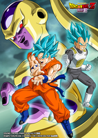 Freezer Goku y Vegeta SSJSS by SaoDVD