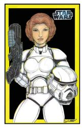 Princess Leia Storm Trooper by JointDesign