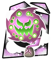 Spiritomb by CloudyZu